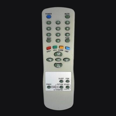 Пульт LG/GS TV 6710V00070B: описание, характеристики