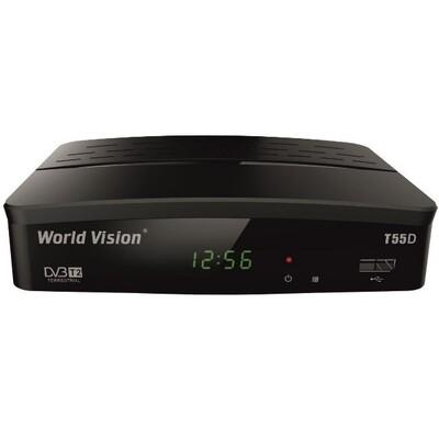 ТВ тюнер Т2 World Vision T55D: описание, характеристики