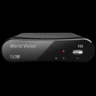 ТВ тюнер Т2 World Vision T35: описание, характеристики