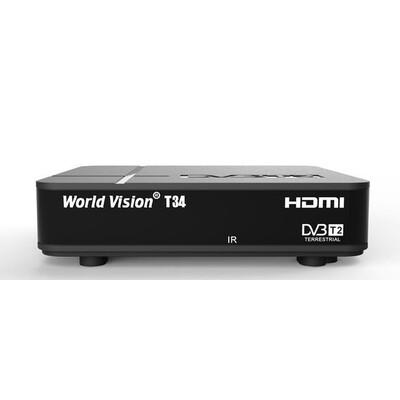 ТВ тюнер Т2 World Vision T34: описание, характеристики