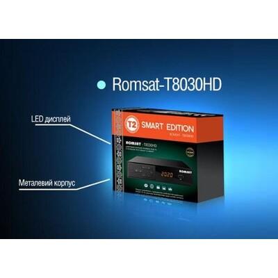 Romsat T8030HD: описание, характеристики