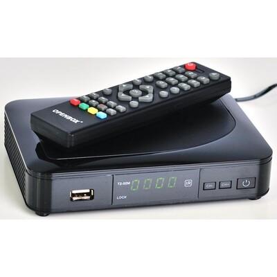 ТВ-ресивер Openbox T2-02M HD: описание, характеристики