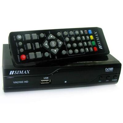 ТВ приставка Т2 SIMAX VA2103HD: описание, характеристики