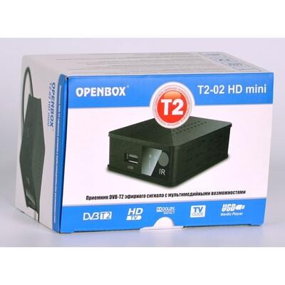 ТВ тюнер Т2 Openbox T2-02 Mini: описание, характеристики