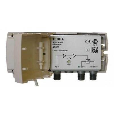 Усилитель Terra AS039 (x2): описание, характеристики