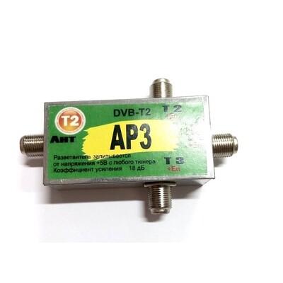 Усилитель Т2 AP3 18дБ: описание, характеристики