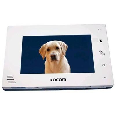 Видеодомофон Kocom KCV-A374SD MONO: описание, характеристики