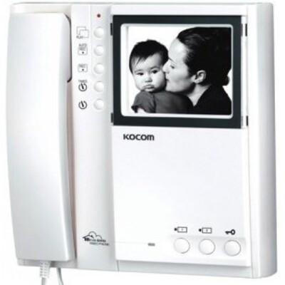 Видеодомофон Kocom KVM-524R: описание, характеристики