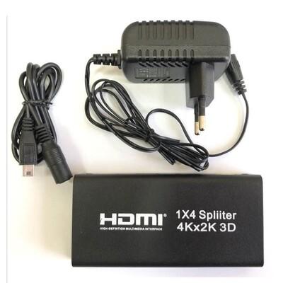 HDMI splitter 1/4 AYsp4: описание, характеристики