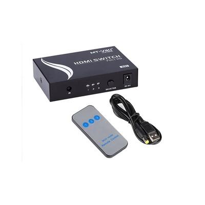 HDMI Switch 3x1 v1.4 MT-VIKI: описание, характеристики