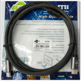 Кабель HDMI 1м High Speed v2.1