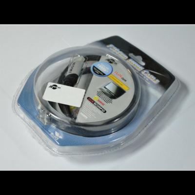 Кабель HDMI  v1.4 Metal Gold 3m (блистер): описание, характеристики