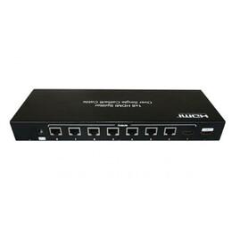 HDMI splitter to Lan 1x8 SP20