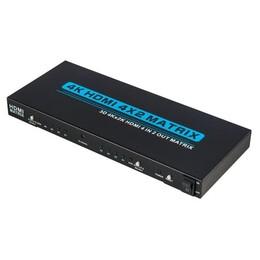 HDMI Matrix 4x2 ZT-204A