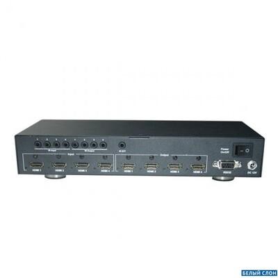 HDMI Matrix 4x4: описание, характеристики