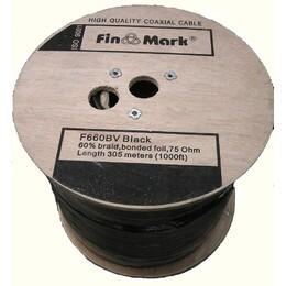 Кабель FinMark F660BV черный 305м