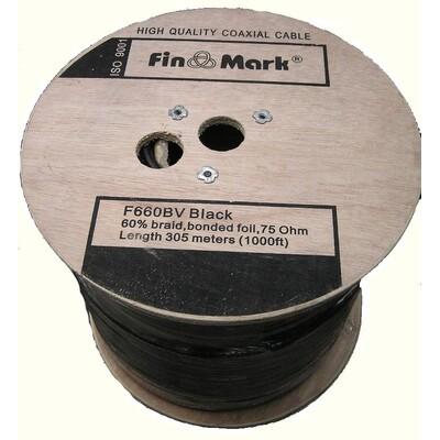 Кабель FinMark F660BV черный 305м: описание, характеристики
