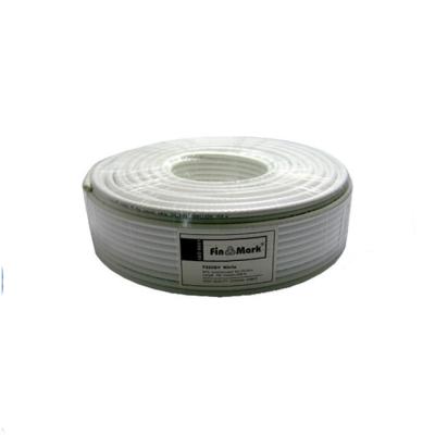 Кабель FinMark RG-6 белый 100м: описание, характеристики