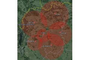 Покрытие Т2 в Черниговской области