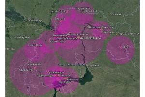 Покрытие Т2 в Днепропетровской области