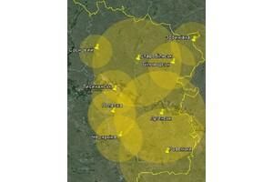 Покрытие Т2 в Луганской области