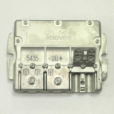 Splitter 2 (5-2400МГц) Televes ref. 5435: описание, характеристики