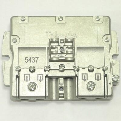 Splitter 4 (5-2400МГц) Televes ref. 5437: описание, характеристики