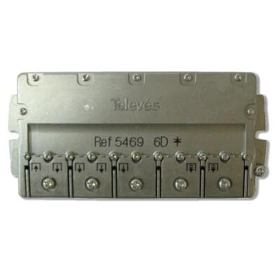Splitter 6 (5-2400МГц) Televes ref. 5469: описание, характеристики