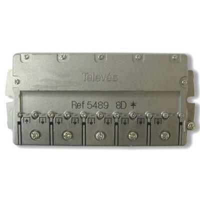 Splitter 8 (5-2400МГц) Televes ref. 5489: описание, характеристики
