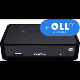 AuraHD WiFi с подпиской OLL.TV