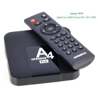 Android TV Box Openbox A4 Pro: описание, характеристики