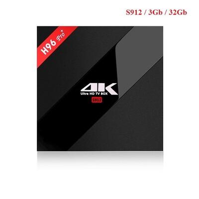 Android TV Box H96 PRO+: описание, характеристики