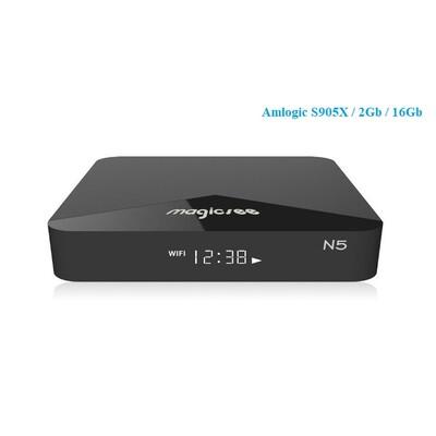 Android TV BOX N5: описание, характеристики