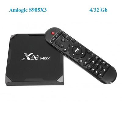 uClan X96 MAX (4/32): описание, характеристики
