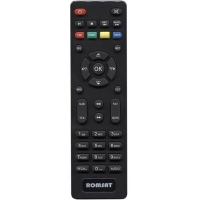 Пульт Romsat T8000HD / T8010HD / T8020HD: описание, характеристики