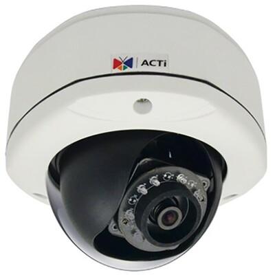 Сетевая видеокамера ACTi D72: описание, характеристики