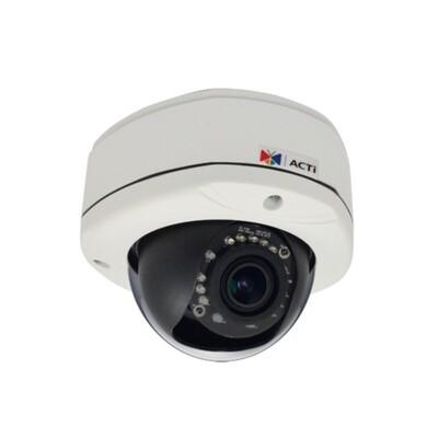 Сетевая видеокамера ACTi E83: описание, характеристики