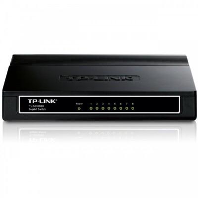Коммутатор TP-Link TL-SG1008D: описание, характеристики