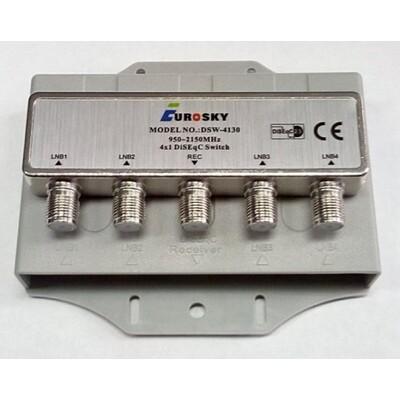 DiSEqC Eurosky DSW-4130(кожух): описание, характеристики