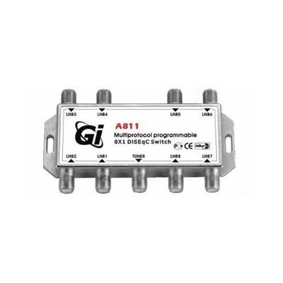 Дисек спутниковый 8х1 GI A811: описание, характеристики