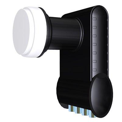 Спутниковый конвертор Inverto Circular Quad Black Premium (круговой поляризации): описание, характеристики