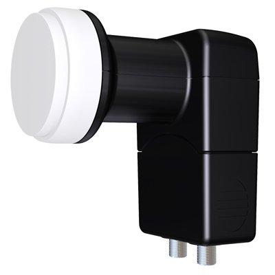Спутниковый конвертор Inverto Circular Twin Black Premium (круговой поляризации): описание, характеристики