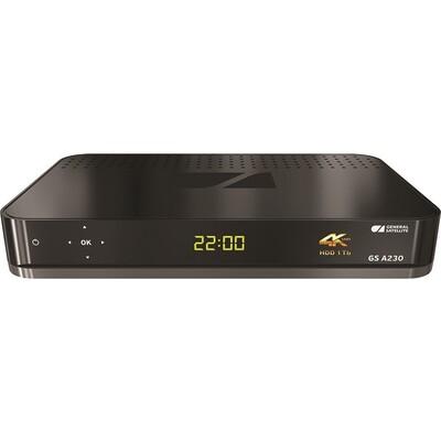 Триколор GS А230 Ultra HD: описание, характеристики