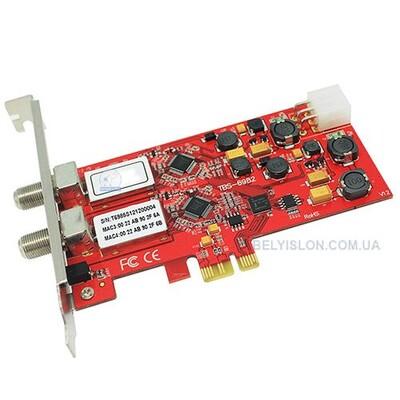 DVB-S2 Dual PCI Express карта: описание, характеристики