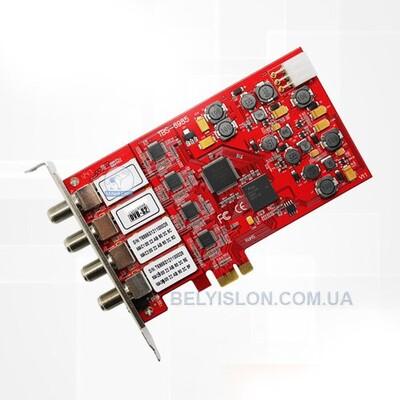 DVB-S2 Quad PCI Express карта: описание, характеристики