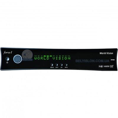 Спутниковый HD ресивер WV Force1: описание, характеристики