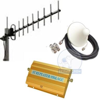 Комплект усиление сотовой связи 900 МГц: описание, характеристики