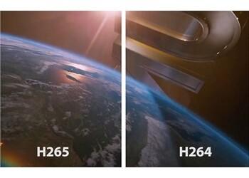 Сравнительная характеристика кодеков H.264 и H.265
