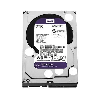 Внутренний жесткий диск WD Purple 2TB WD20PURZ: описание, характеристики